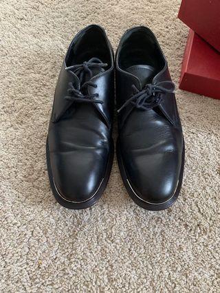 正品麦昆手工皮鞋