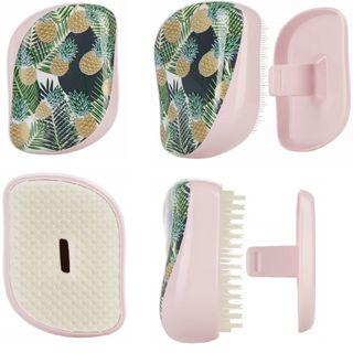 🌟[ 菠萝圖案有蓋款包郵]Tangle Teezer Palms & Pineapples Compact Styler Detangling Hairbrush