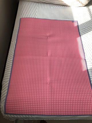 Lucky baby diaper changing rubber mat
