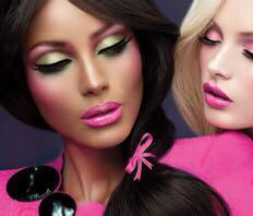 "MAC x Barbie Eyeshadow ""SPRINGTIME SKIPPER"" veluxe pearl Minty Green"