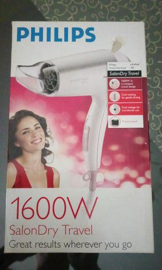 New Phillips hair dryer