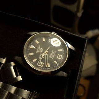 Elgin automatic watch 機械錶 愛爾琴 探險家 explorer 探一