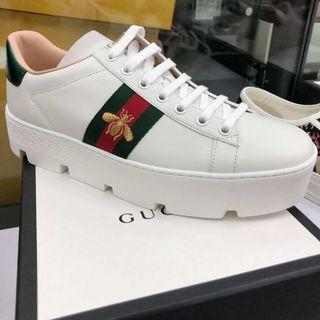 Gucci bee 🐝 sneakers 鬆高蜜蜂波鞋! Size 38, 39, 40!