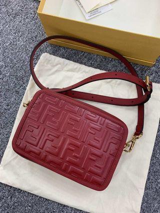 Fendi Camera Bag 最新款 相機包 ! 紅色