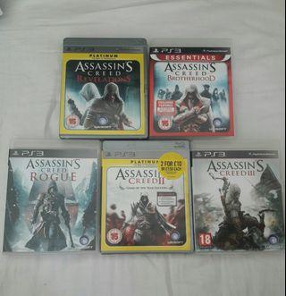PS3 ASSASSIN'S CREED Bundle Set