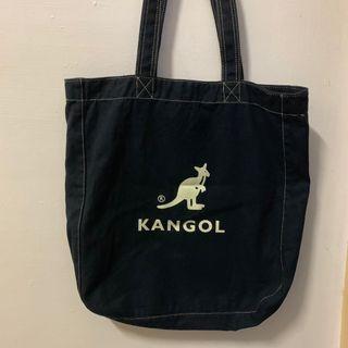 🚚 Kangol 帆布袋 帆布包 韓國
