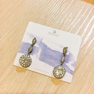 全新❤️水鑽氣質耳環