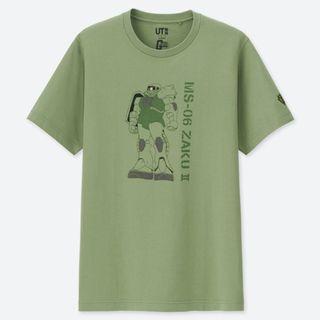 【AMBRAI.com】 UNIQLO x GUNDAM 鋼彈 40週年 聯名 夏亞 薩克 短袖 短T Tee UT T恤