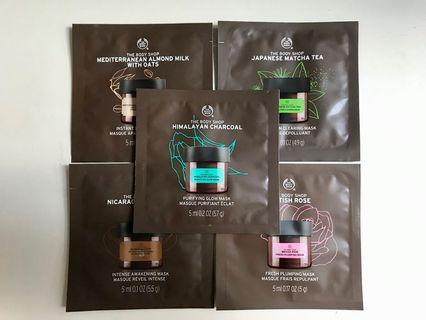 🇬🇧 THE BODY SHOP Mask Sample Set