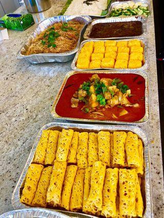 🚚 Halal catering set