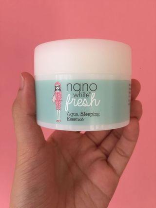Nano White Aqua Sleeping Essence