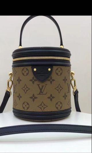 NA LOUIS VUITTON CANNES BAG IN REVERSE MONOGRAM