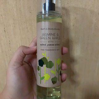 Baru Bath And Body Works - Jasmine & Green Apple (Parfum / Body Mist)