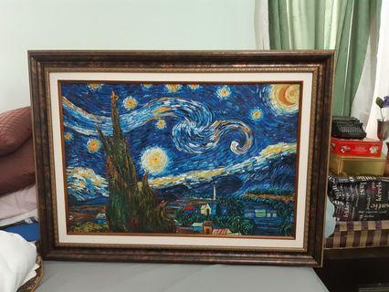 Painting - Starry night