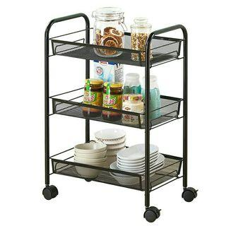 IKEA Inspired - Movable 3-Tier Rack