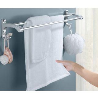 浴室毛巾架 銀色磨砂 全新沒有包裝