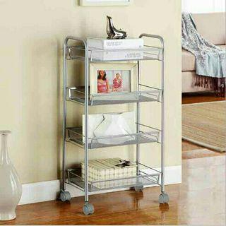 IKEA Inspired - Movable 4-Tier Rack