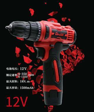 New Dawei tools cordless drill