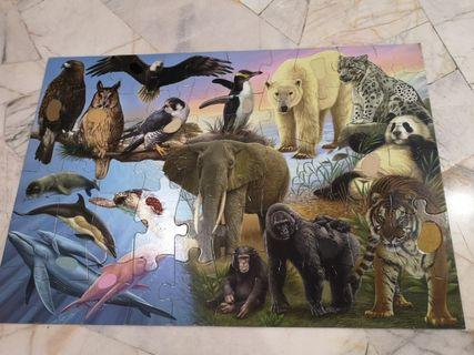 ELC Giant Puzzle Endangered Animals