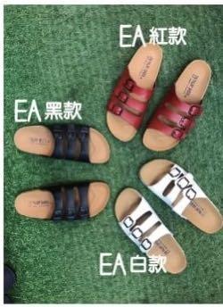 🚚 現貨)降價!泰國勃肯🇹🇭拖鞋 紅皮革文青女孩系 剩37號