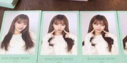 🚚 LF/WTB chaewon fanmeet japanese photocards