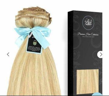 Zala beach blonde tape real hair extensions