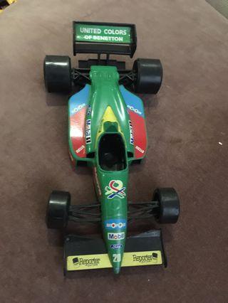 Vintage F1 die-cast cars