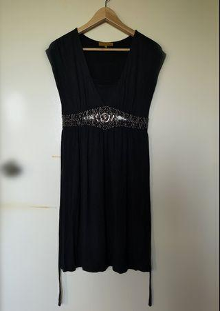 MICKAA Black Dress (suitable for pregnant lady)