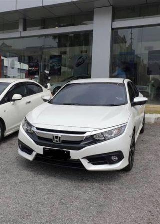 Honda Civic FC ori bumper front & back (2 weeks used)