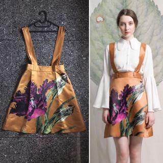 CALLA orchid flare skirt