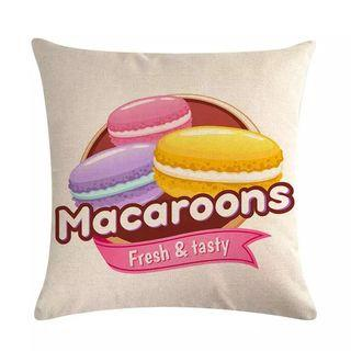 Macaroons - Tasty Cushion Cover.