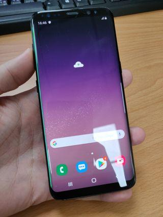 Samsung s8 螢幕瑕疵,cp值超高