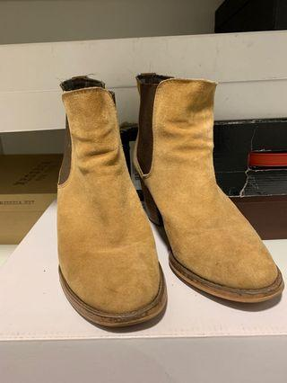 Suede Ankle Boots Size 8