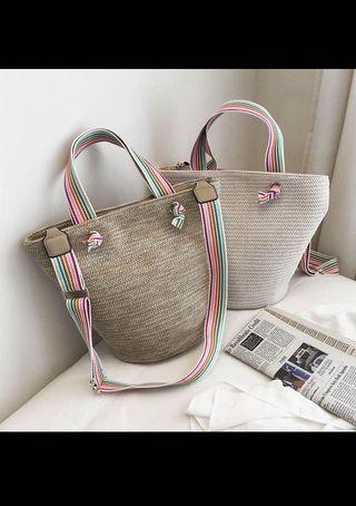 *instock* Woven Handbag