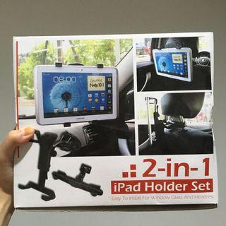 Ipad holder 2in1