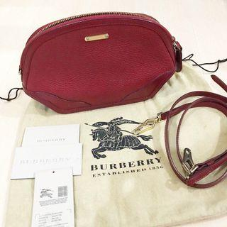 Authentic BURBERRY Grainy Leather Orchard Crossbody Bag