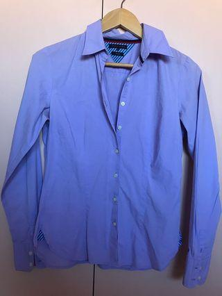 Tommy button up Shirt lilac