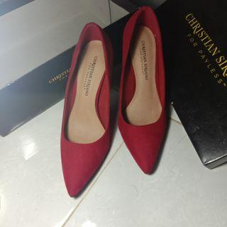 Christian Siriano For Payless Red High Heels