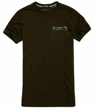 Superdry Surplus Goods Longline Pocket Men's Tee Shirt