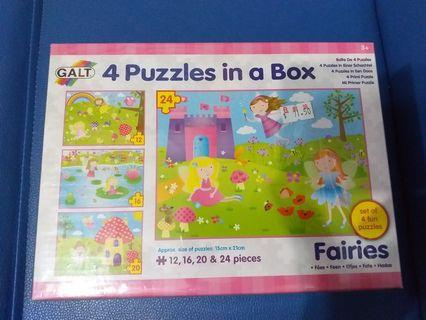 4 Puzzles in a Box (Fairies)