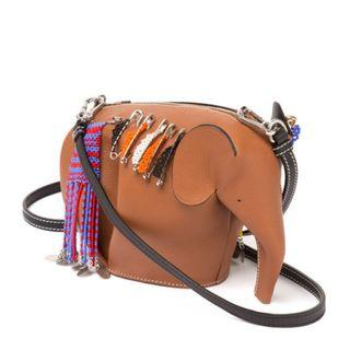 Request for Genuine LOEWE elephant mini bag Knot On My Planet