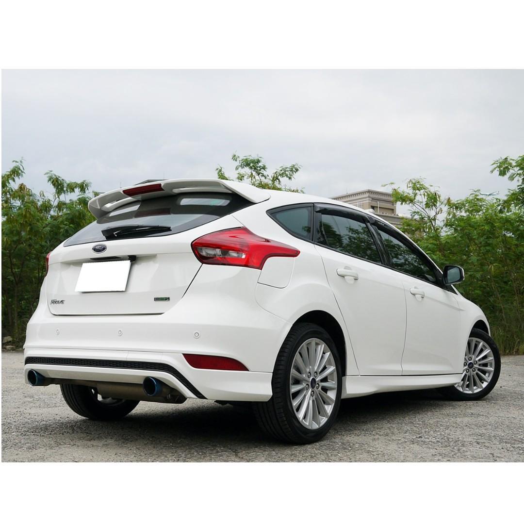 全額貸款-2018年 3.5代 馬丁頭 FOCUS 1.5T 只跑3萬公里 已認證 新車保固中 只需要3500設定費即可交車