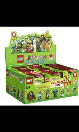 Lego Series 13 Boxset Of 60 Minifigs Minifigures New MISB Unopened MINT BOX SEALED 71008