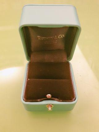 🚚 Tiffany鑽戒專用戒指盒 水藍新版