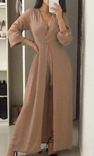 Caramel jumpsuit