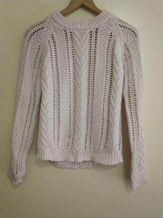 Zara pale pink knit