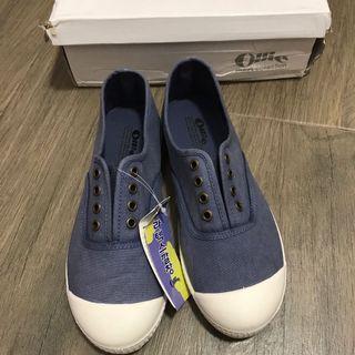 全新韓國Ollie 藍色休閒鞋 navy loafer