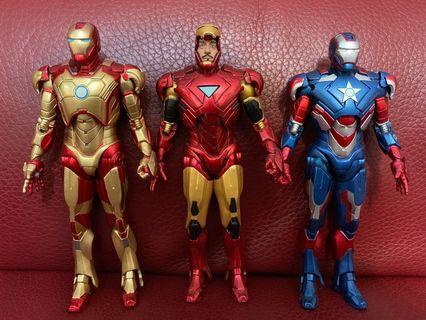 Marvel Iron Man Tony Stark 鋼鐵人 鐵甲奇俠 Avengers Endgame 復仇者聯盟4 終局之戰