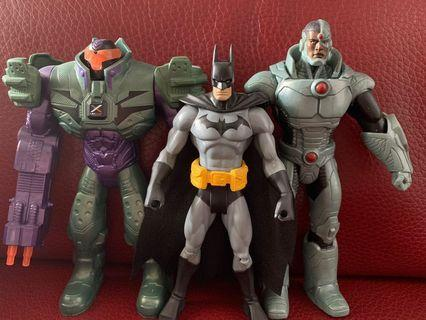 DC Batman Lex Luther Cyborg 蝙蝠俠 鋼骨 雷斯路瑟 正義聯盟 justice league