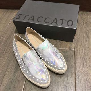 Staccato 尖頭平底鞋 休閒 pointed Shoes